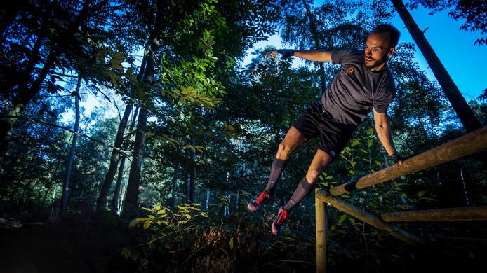 Bram van Dongen doet mee aan het WK obstacle run.