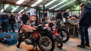 IN BEELD. Onderdelen en curiositeiten van oude motoren en fietsen op 28ste oldtimerbeurs