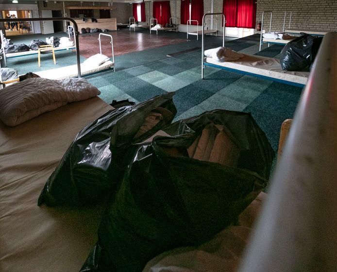 De daklozenopvang in De Kamenij in Helmond.