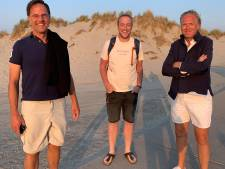 'Groetjes vanaf #Terschelling. Ook namens Mark en Jort.' Media storten zich op tweet van Bert-Jan uit Wezep