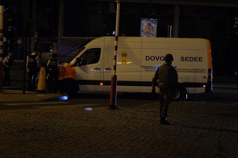DOVO kwam dinsdagavond laat toe aan het Centraal Station in Brussel.