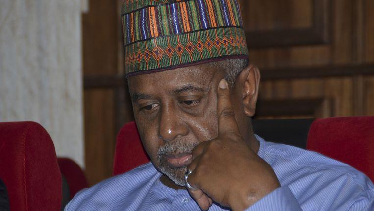 Voormalig presidentieel adviseur Sambo Dasuki. Beeld ap