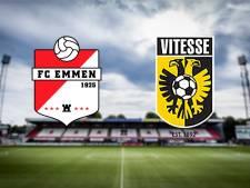 LIVE | Broja en Buitink starten voor Vitesse op bezoek bij hekkensluiter FC Emmen