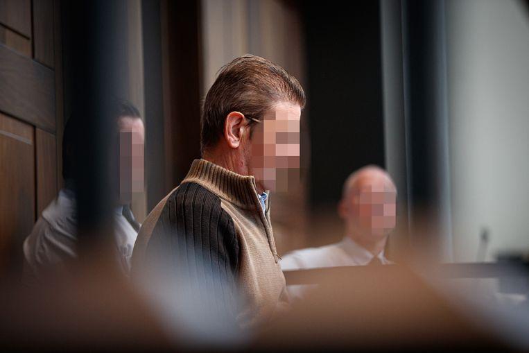 De beklaagde, Luc Vanden Bussche,