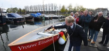 Vrouwe Elisabeth maakt eerste vaart in Culemborg