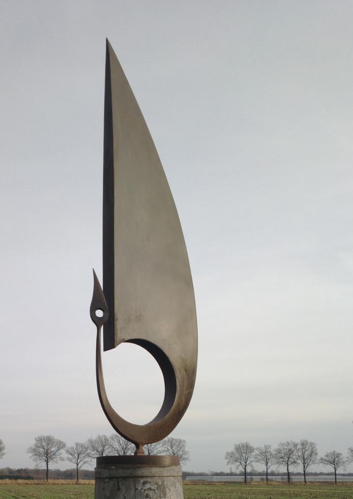 Ook het kunstwerk Weder uit 2012 van Dirk Verberne is vanaf 27 maart te zien in Schijndel.