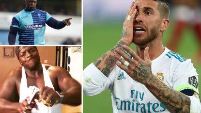 De nieuwste vijand van Sergio Ramos: spits die 102kg in de schaal werpt en menig verdediger knikkende knieën bezorgt
