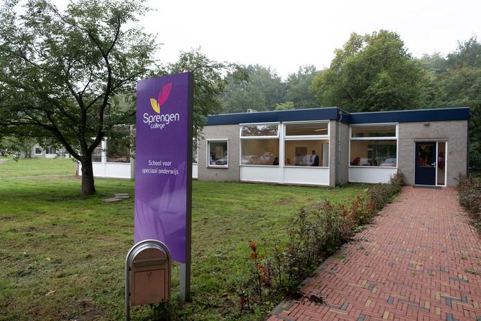 Het Sprengen College in Wapenveld.