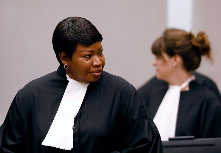 Hoofdaanklager van het Internationaal Strafhof Fatou Bensouda. Beeld Reuters
