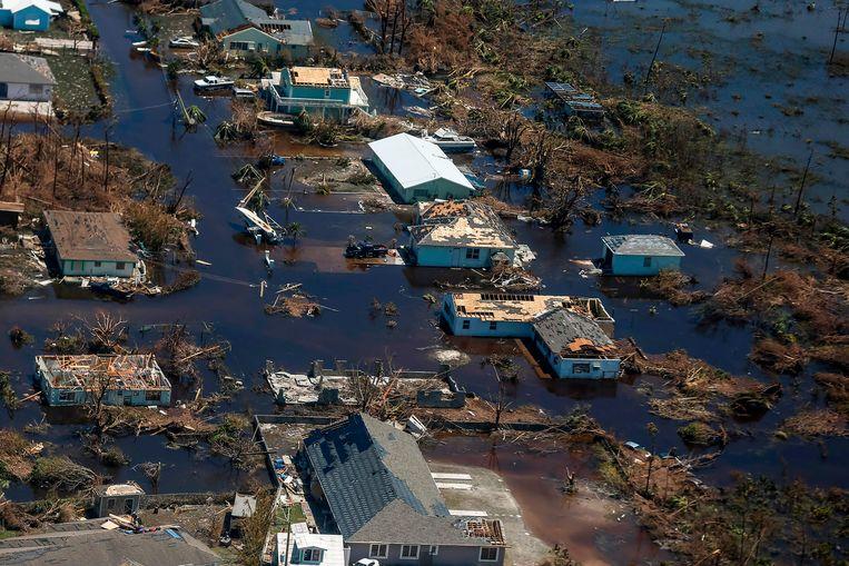 Dorian heeft echter op lang niet elk van de eilanden van de Bahama's evenveel schade veroorzaakt.