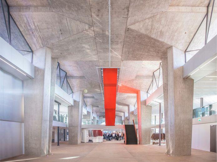 TU/e, Atlasgebouw, centrale hal. Norbert van Onna