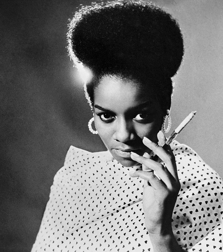 Portret van Priscilla Bardonille, ca. 1962.  Beeld Kwame Brathwaite