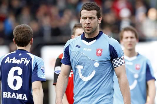 Peter Wisgerhof was zelfs even aanvoerder van FC Twente.