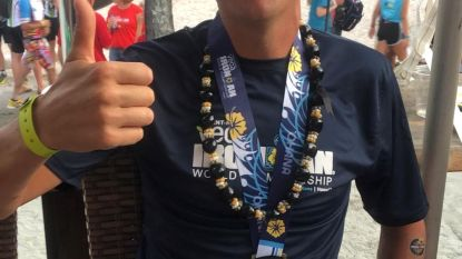 Zwevezelenaar Timmy Deman wordt vijfde Belg in de Iron Man in Hawai
