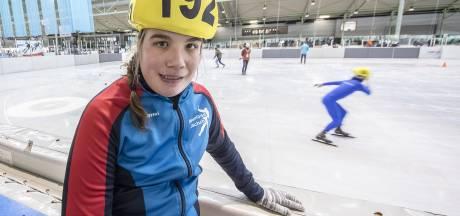 G-shorttrackster Maartje uit Borne geeft zich helemaal en wint zilveren medaille