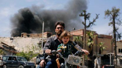 """Experts chemische wapens  aangekomen in Douma, bewijzen """"wellicht al verdwenen"""" volgens Frankrijk"""