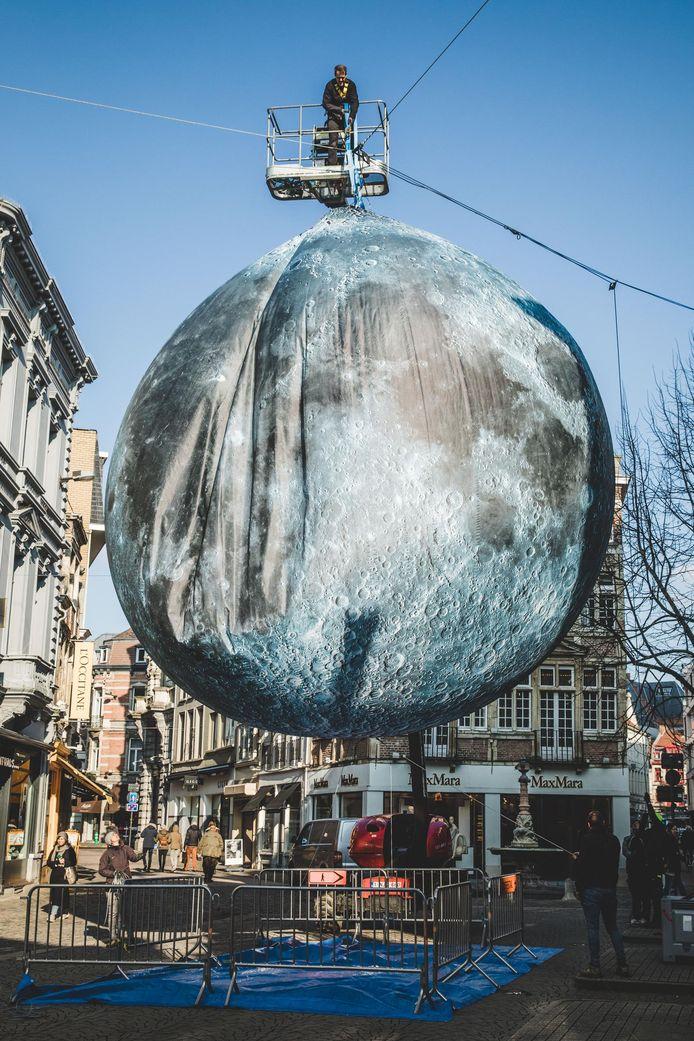 Publiekslieveling Museum of The Moon werd gisteren afgebroken.