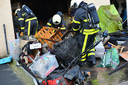 Koelkast in brand gevlogen in Bredase woning.