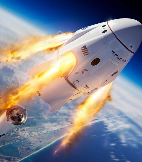 Ruimteschip Elon Musk vanavond te zien vanuit Twente