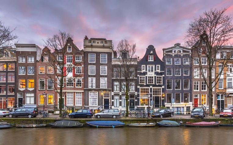 Prachtige herenhuizen in Amsterdam