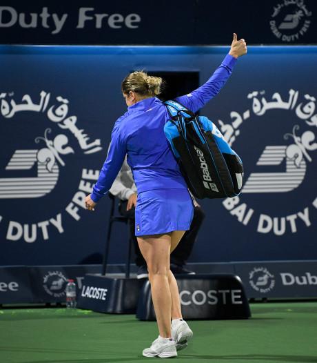 """Filip Dewulf enthousiaste: """"Une excellente prestation de Kim Clijsters"""""""