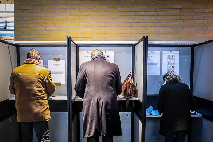 Gemeenteraadsverkiezingen in Eindhoven in 2018.