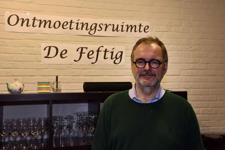 Ontmoetingsruimte De Feftig, Frederik Pollet van Welzijnsschakel 't Verzetje.