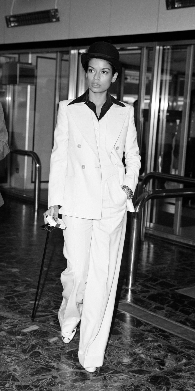 Bianca Pérez-Mora Macías in juli 1972  Beeld Mirrorpix via Getty Images