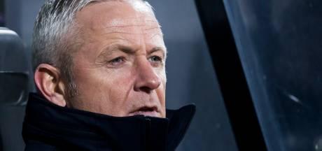 NEC-trainer De Gier maakt zich niet druk over zijn positie