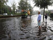 Flinke overlast in de regio door hevige regenval