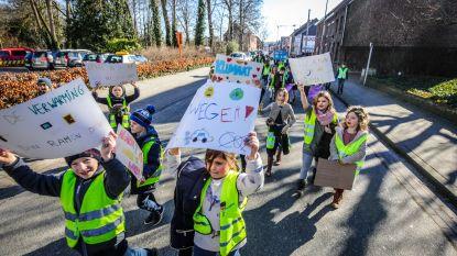 '1, 2, 3: het klimaat is ribbedebie': 650 leerlingen van 8 scholen samen op pad