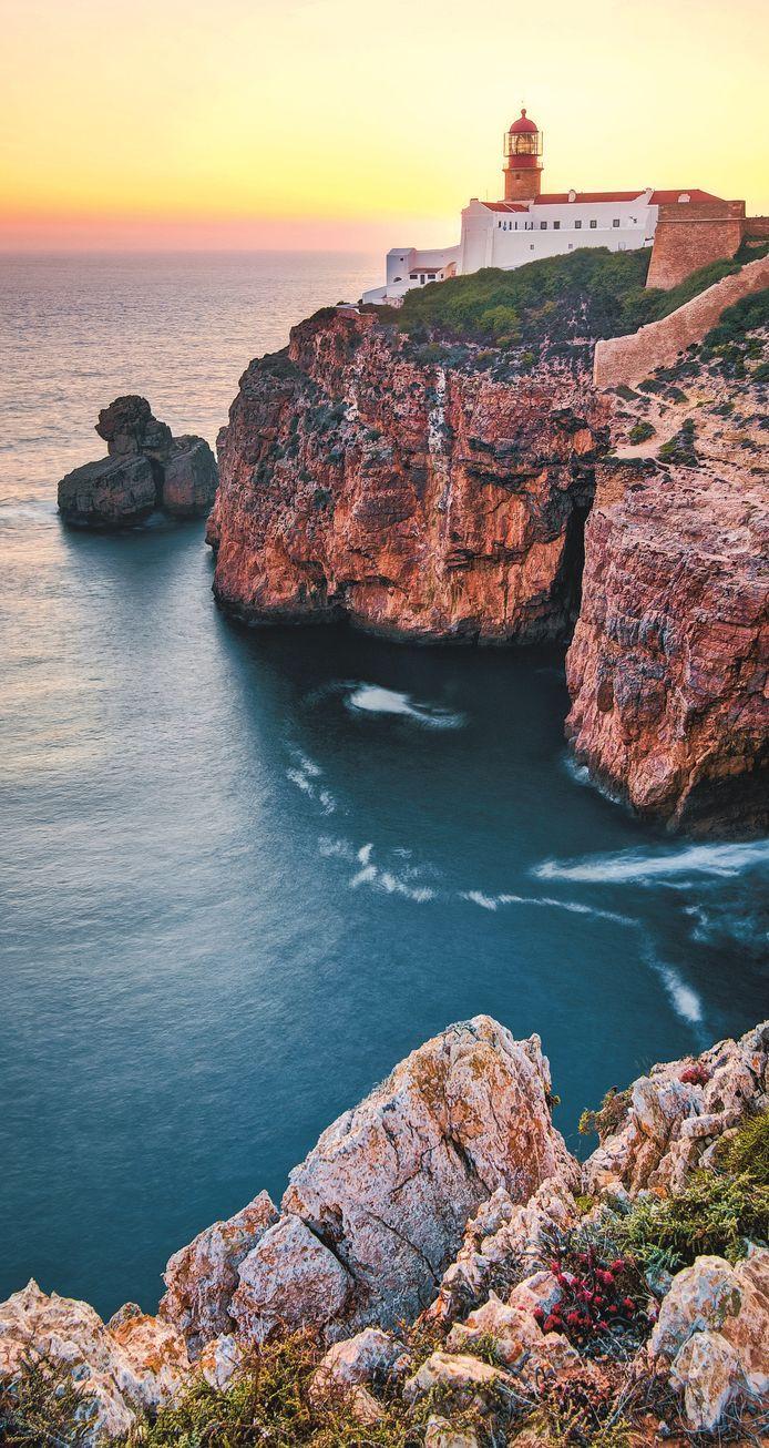 De Cabo de São Vicente bij Sagres.