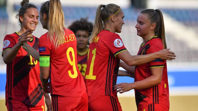 """Red Flame Davinia Vanmechelen: """"Nog tweemaal winnen en we gaan naar het EK in Engeland"""""""