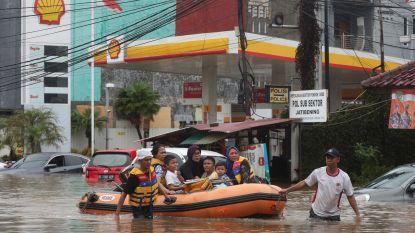 Jakarta kent ergste overstromingen in jaren: minstens 9 doden