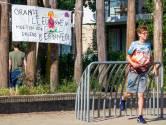 Nijmegen wil ultieme poging behoud speelveld, leerlingen De Buut in optocht naar stadhuis