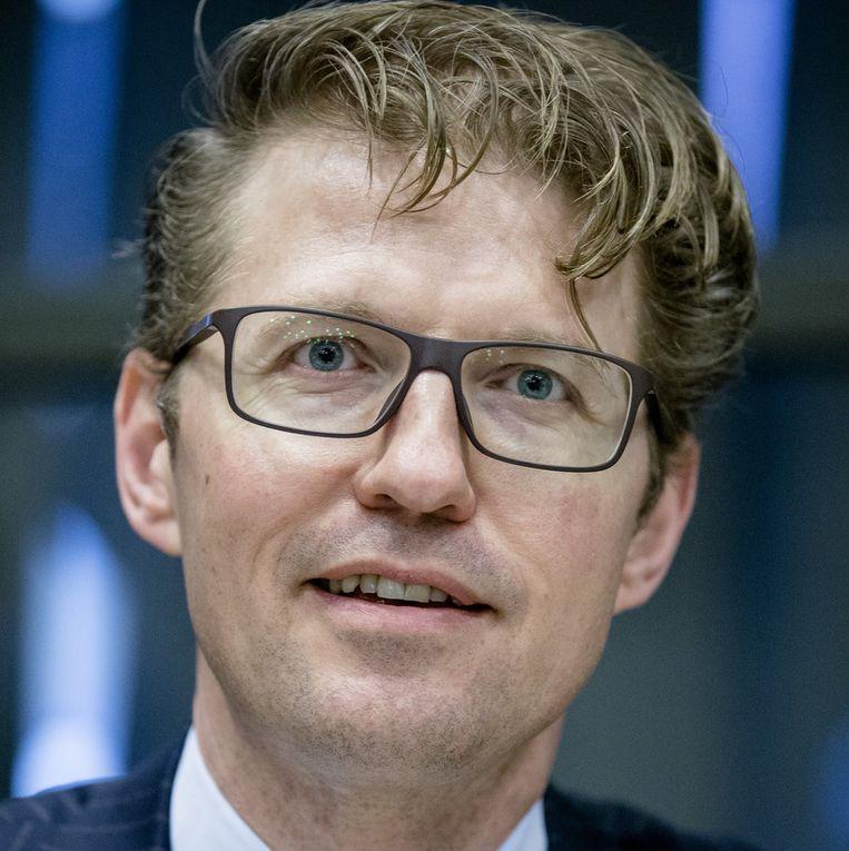Sander Dekker. Beeld anp