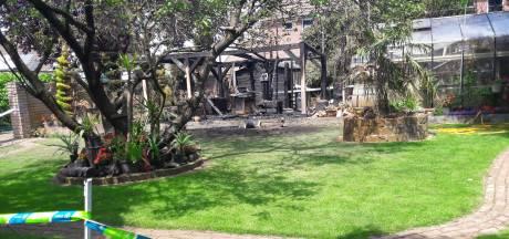 Barbecuebrand in Westervoort zorgt voor metershoge vlammen: 'gelukkig waren de kinderen op tijd weg'