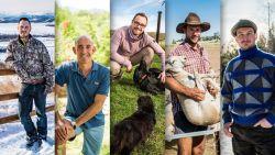Maak kennis met de vijf boeren die meedoen aan 'Boer zkt Vrouw'