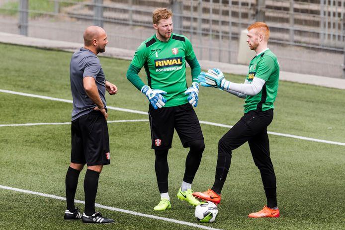 Ben Kinds (links) gaat aan de slag als assistent-trainer.