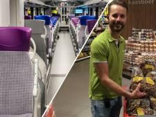 Luchtig nieuws: pepernoten alweer in schappen in Almelo & hoge nood in de trein