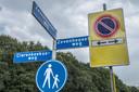Parkeerverbod op de Clarenbeekseweg.