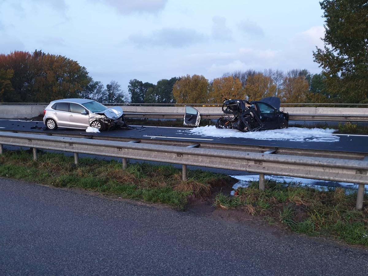 Ongeval A17 De Stok Roosendaal