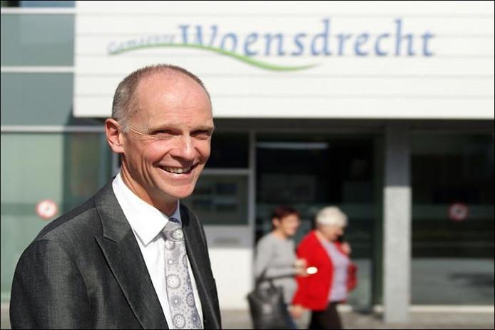 Burgemeester Fränzel. archief BN DeStem