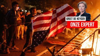 """Greet De Keyser vanuit de VS, waar geweld met nog meer geweld wordt beantwoord: """"Op momenten als deze verwachten de Amerikanen steun van hun president"""""""
