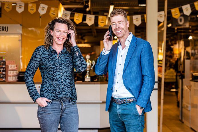 Anne en Bas Bobeldijk openen de ene na de andere coronateststraat. Anne volgt ook nog een hbo-opleiding en Bas runt twee succesvolle supermarkten.