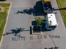Leuzen op de weg in Europapark Alphen: 'Rutte is een tiran'