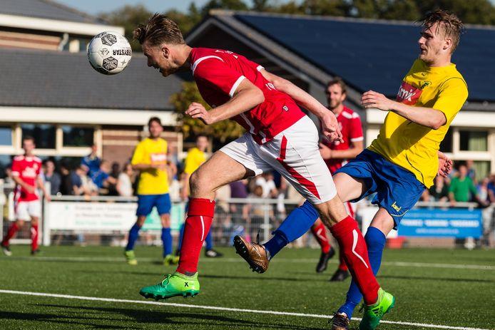 De wedstrijd SO Soest tegen Hooglanderveen wordt zondag zonder publiek gespeeld. SO Soest durft een toestroom van toeschouwers niet aan.