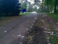Deventer park bezaaid met rotzooi Stadsfestival; vanavond weer schoon