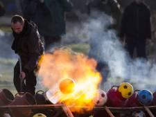 Populariteit carbidschieten verrast burgemeester Hardenberg: veelvoud van veertig