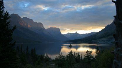 Glacier National Park past borden aan die verdwijning gletsjers voorspelden in 2020